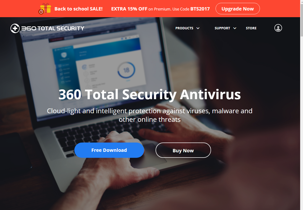 free upgrade 360 total security
