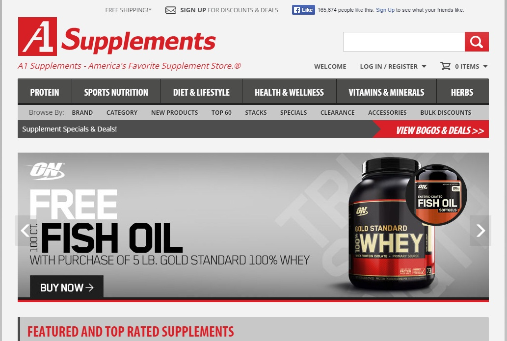 A1 supplements coupon code 2019