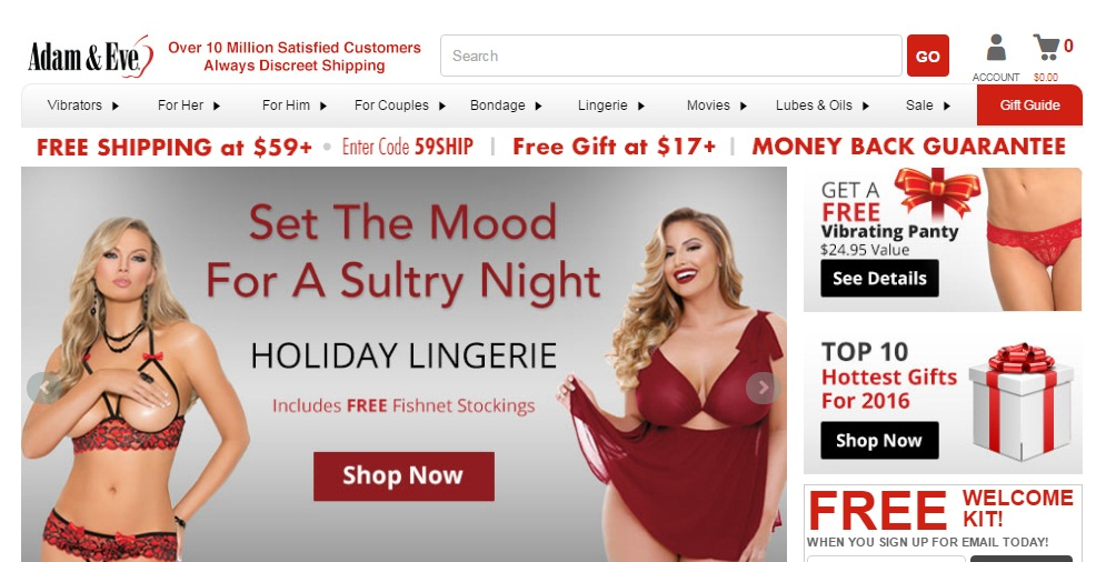 Get Adam and Eve Coupons and Promo Codes At Discountspout.com