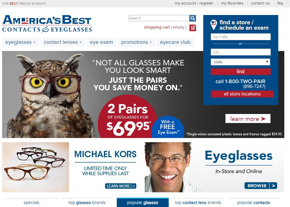 americas best contacts eyeglasses coupon codes