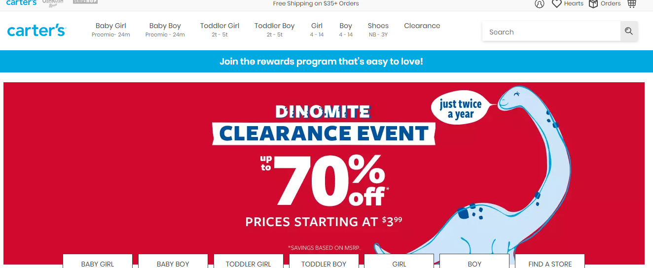 Carters Coupons And Promo Codes