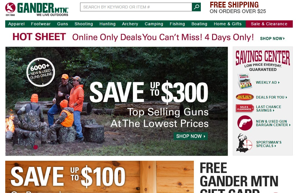 Exclusive Offers & Updates From Gander Mountain