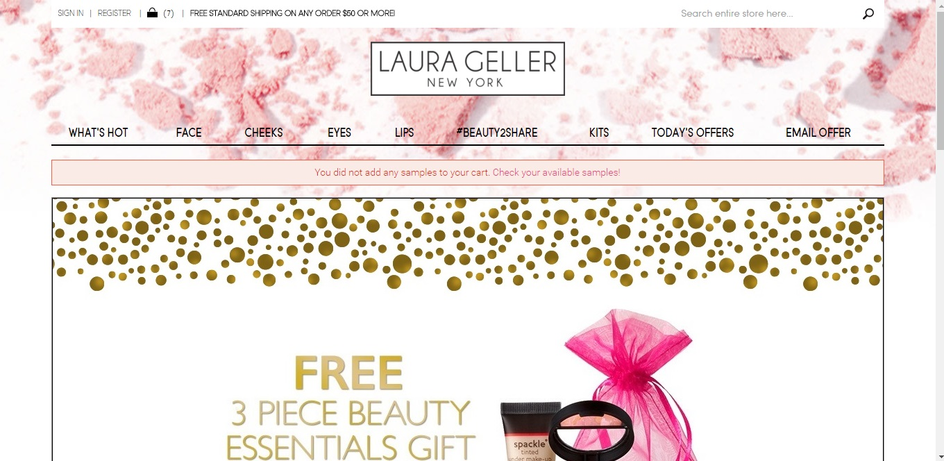 Coupons for laura geller