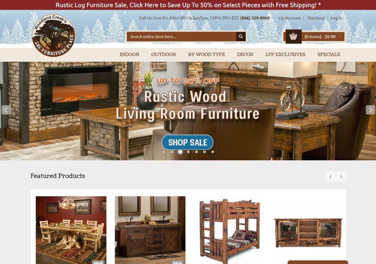 How Log Furniture Place Coupon Codes And Deals Work?