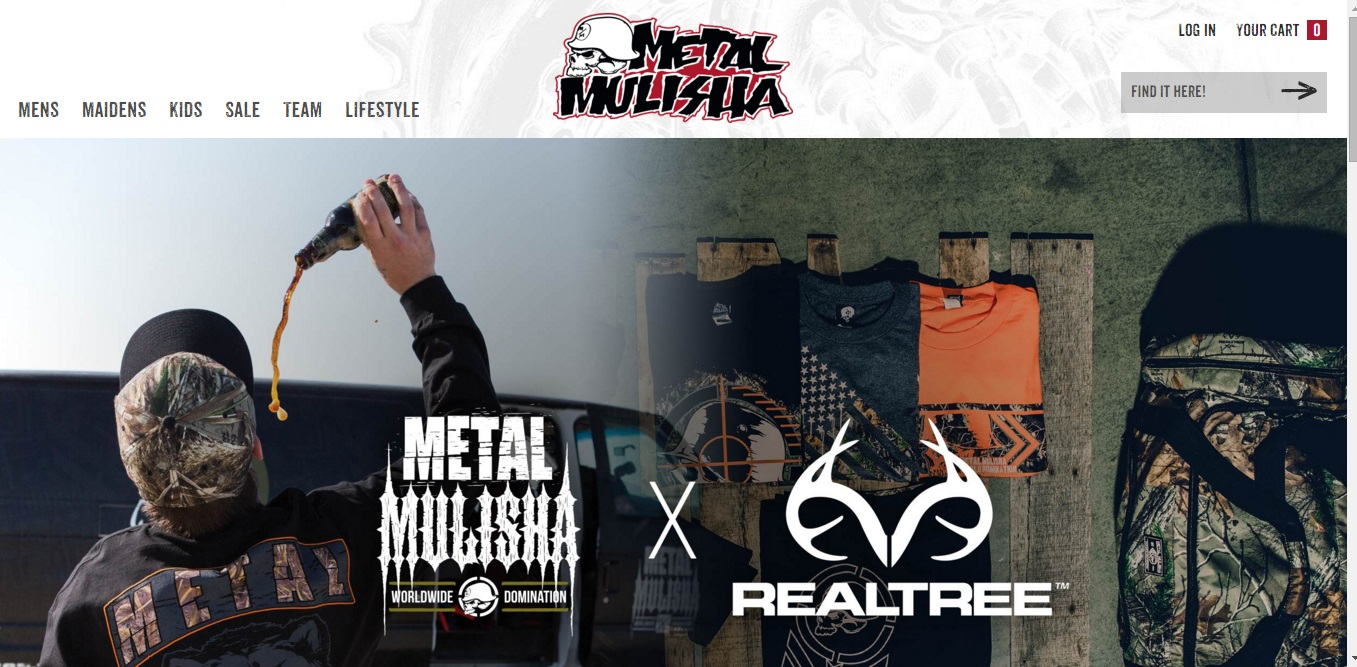Metal Mulisha is a small fan gear & paraphernalia retailer which operates the website bukahatene.ml of today, we have 2 active Metal Mulisha sales. The Dealspotr community last updated this page on October 3, On average, we launch 3 new Metal Mulisha promo codes or coupons each month, with an average discount of 28% off and an average time to expiration of 22 days.