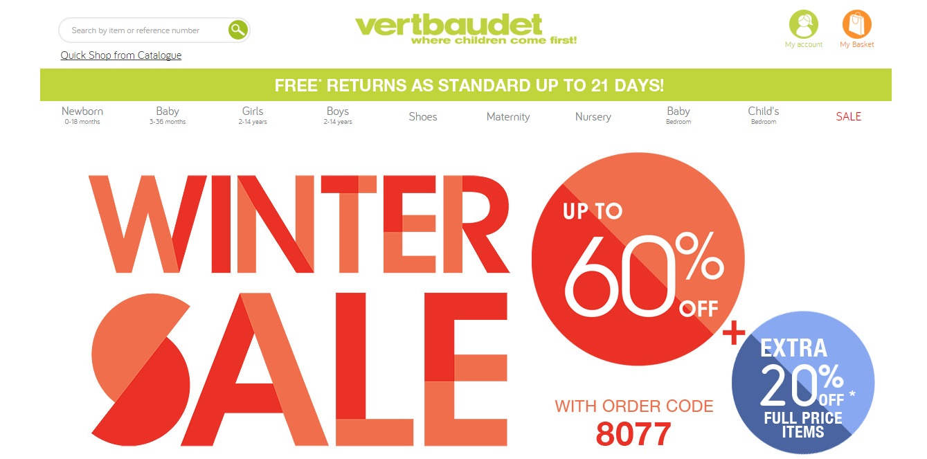 Vertbaudet discount coupons