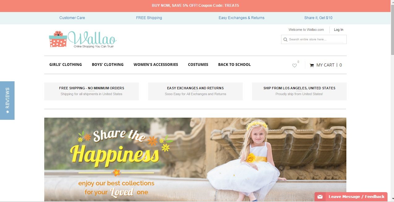 Wallao sale - up to 8% Baby & Kids Get the Latest Wallao coupons and Wallao promo code & save 8% off at Wallao. Check out the Wallao coupon code first. Check out the Wallao coupon code first. soon.